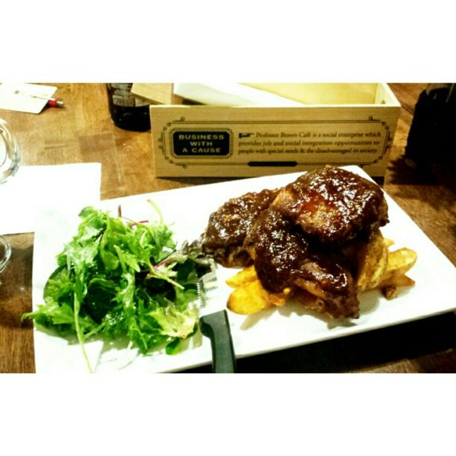 Savoury BBQ Pork Ribs