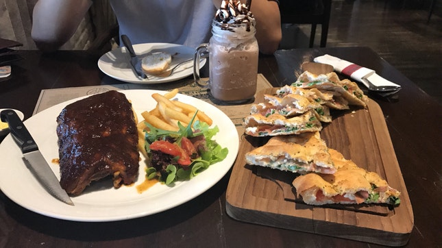 BBQ Coffee Pork Ribs | Midwinter Pizza | Chocolate Milkshake