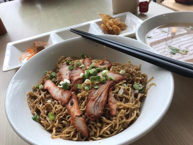 XXL Wanton Mee Set Meal (RM26)