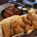 Original (Mild Spicy) & Fried Chicken (Half Each)