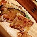 My fav dish in the kaiseki- unagi and eggplant.