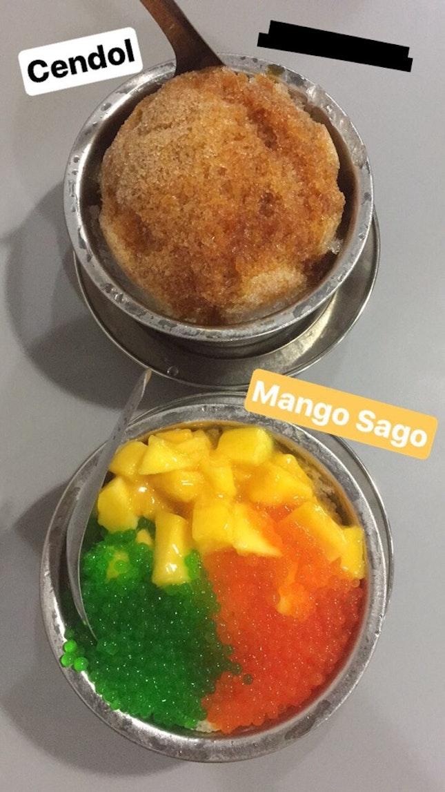 Mango Sago/Cendol [Kim Lotus @ Jurong West]