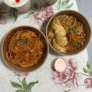 Spicy Crab Pomodoro Pasta & Tempura Mentaiko Pasta