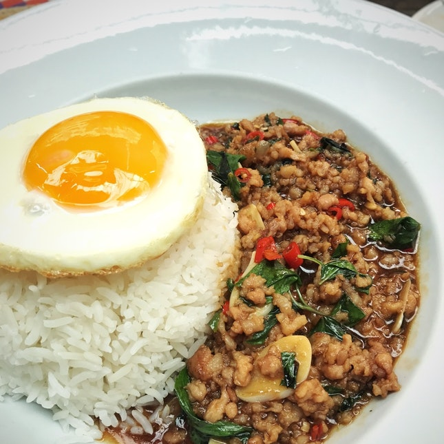 Thai Minced Meat Basil Rice