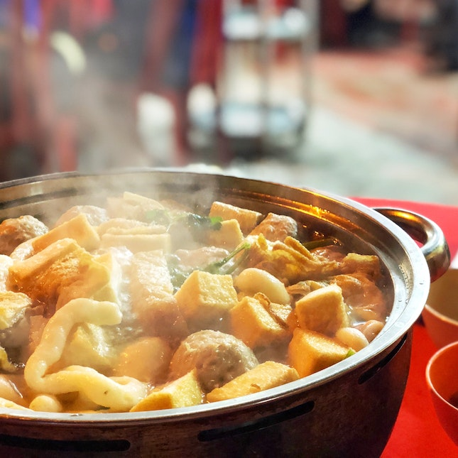 Clear Soup Steamboat