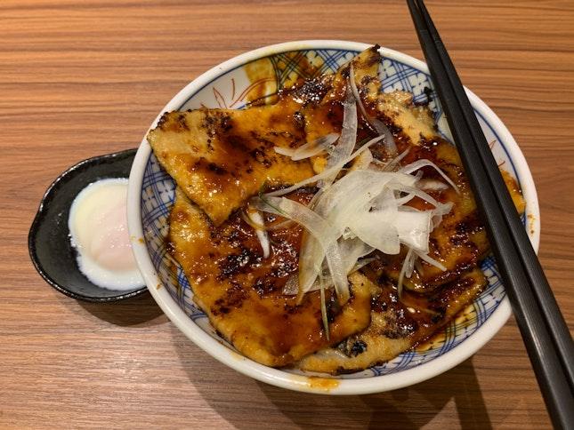 Grilled Pork Loin Rice - Buta Don