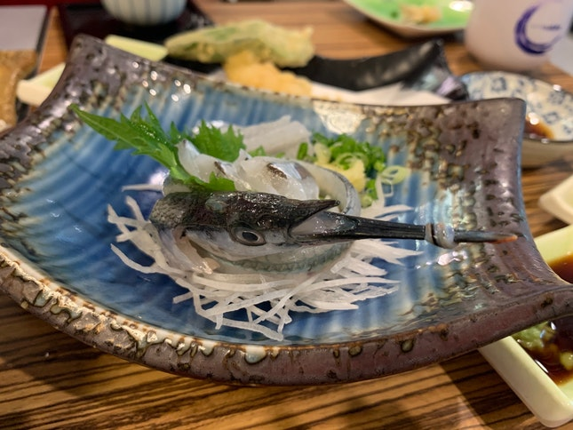 Interesting and Fresh Sashimi!