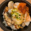 Seafood Donburi In Hotstone Bowl - Yum 🤤