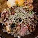 Truffled Beef Donburi