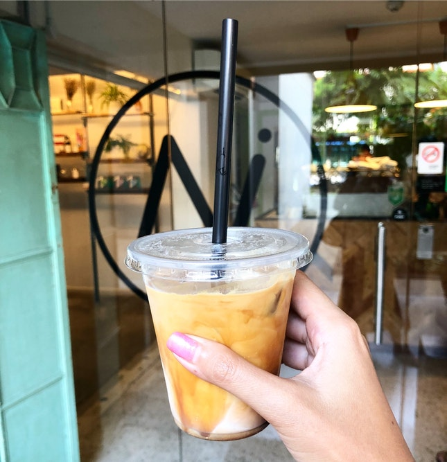 Strong Iced Latte 😍