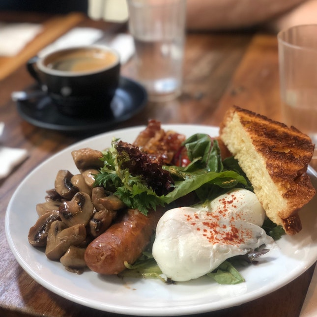 Delicious Wholesome Brunch With Good Coffee