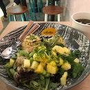 Wasabi Salmon Poke Bowl