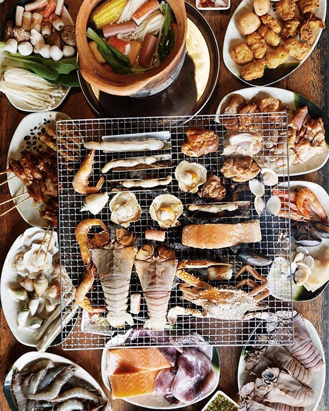 this is one for seafood lovers!