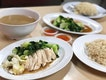 Chicken rice ($4/plate) ⭐️ 4/5 ⭐️ 🍴Really good chicken rice in the West serving  tender and succulent chicken.