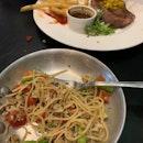 Crab Meat Pasta ($24)