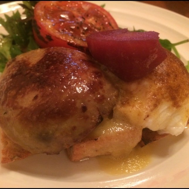 Foie Gras And Poached Egg