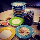 "this is the ""after"" shot #lunch #sushi #japanese #sgfood #colours #latergram"