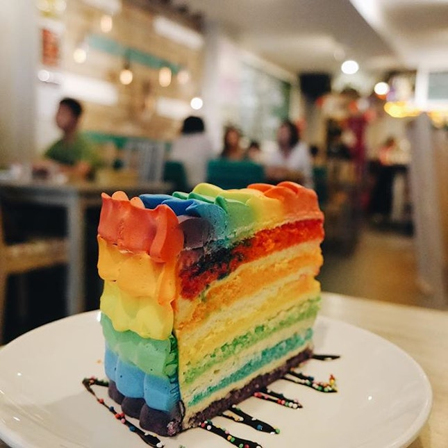 Where To Have Rainbow Cakes