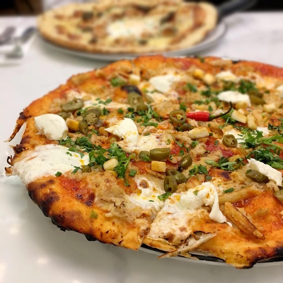 Chilli Crab Pizza