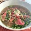 Sliced Beef Noodle ($5)