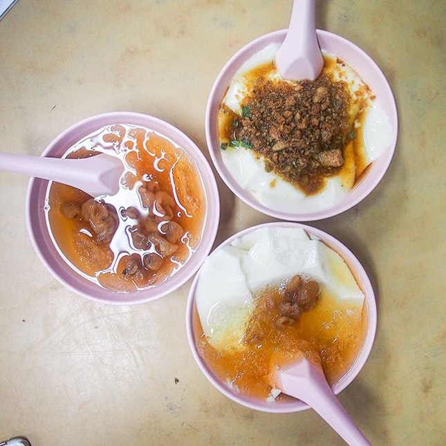 First introduced to this salty beancurd last year when we tour-ed around Geylang out of curiosity.