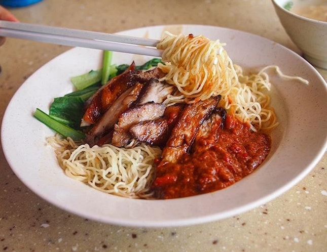 Char Siew Noodle ($3)