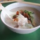 Sliced Pork Porridge ($3.50)