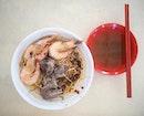 Fei Zai Pork Rib Prawn Noodle 肥仔排骨虾面