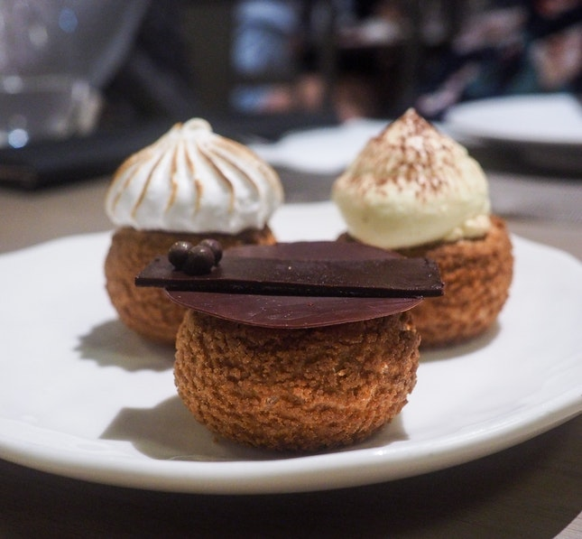 Artisanal Choux (6 for $24++)