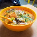 Tom Yum Milk with Seafood ($11.90)