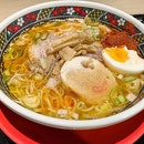 Ajisai Ramen is a mini ramen chain in Hakodate, south Hokkaido.
