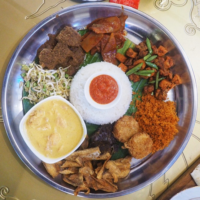 Nasi Ambeng (from $14.90) [or from $12 via the Communal Dining at Kampong Glam App or FB Messenger]