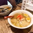 Bushi Tonkotsu Ramen ($17++)