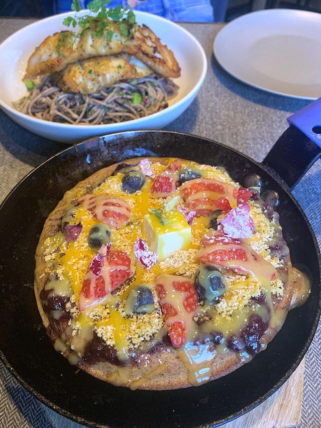 Buckwheat Pancake ($19.5+)