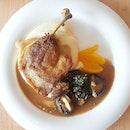 Signature Duck Confit - $14.90  #foodphotography #foodgasm #burpple  #snapandeatsg #foodporn #instafood #foodsg #instafood #sgfood #hungrygowhere #sgfoodiary #sgmakandiary #foodstagram #instasg #whati8today #eatbooksg #saveur