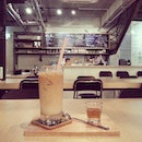 Ice Latte @ RM11  #takepicha #dinewithannna #livetoeat #latte #coffee #catinthebox #cap #centreforasianphotographers #cafe