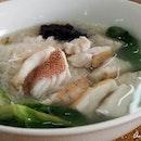 Super fresh red snapper noodles @ http://annna.net/b-best-seafood-noodle-ss4-petaling-jaya/