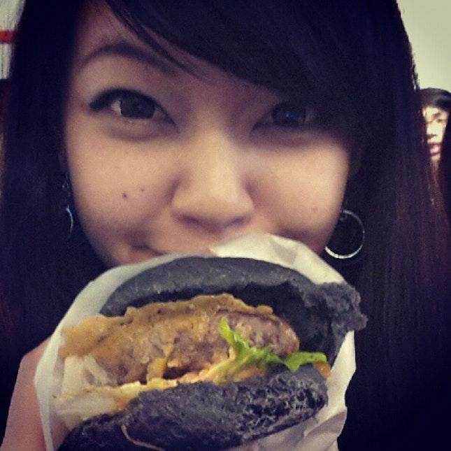 my A+ burger