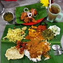 Most craved food ever: Banana Leaf Rice!