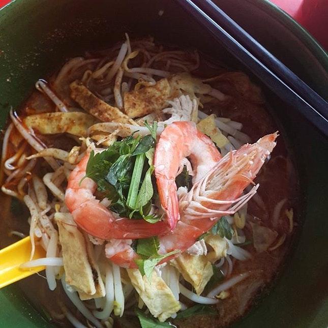 Sarawak Laksa for lunch.