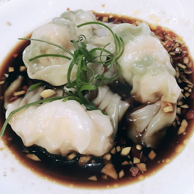 《Sze Chuan Dumplings》super addicted to this...but the best is the one from Din Tai Fung..