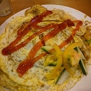 #omelette #Seafood #friedrice #burpple