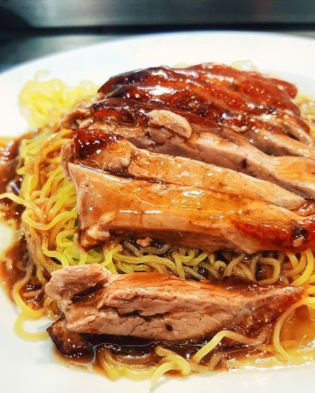 Duck noodles for only S$4.20 is a rare find, and not only it's affordable, the flavour is there too.