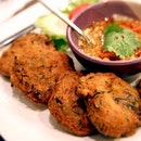 When in Thailand, never miss eating their Thai fish cakes! Best eaten hot and juicy, dipped into sumptuous sweet Thai chili sauce