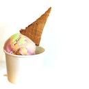 Rainbow ice cream?