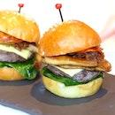 Mini Foie Gras Burger!