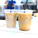 Funny how tastes in coffee changes, and I find myself tuned to Iced Latte of late.