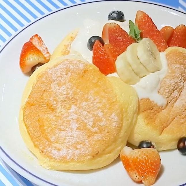 The famed Kiseki Pancakes from Japan.