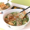"""This Yong Tau Foo stall is called 百年, literally means """"hundred years""""."""