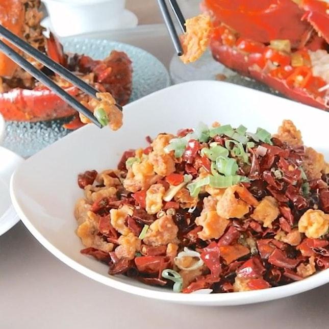 Lobster + Sichuan Dishes Buffet.